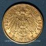 Coins Bavière. Otto (1886-1913). 20 mark 1895 D. (PTL 900‰. 7,96 g)