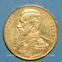 Coins Belgique. Albert I (1909-1934). 20 francs 1914. (PTL 900‰. 6,45 g)