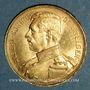 Coins Belgique. Albert I (1909-1934). 20 francs 1914. (PTL 900‰ . 6,45 g)
