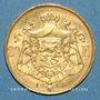 Coins Belgique. Albert I (1909-1934). 20 francs 1914. (PTL 900/1000. 6,45 g)