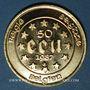 Coins Belgique. Baudouin I (1951-1993). 50 écu 1987. 900 /1000. 17,28 g.