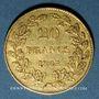 Coins Belgique. Léopold I (1831-1865). 20 francs 1865. 900 /1000. 6,45 gr