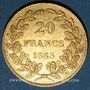 Coins Belgique. Léopold I (1831-1865). 20 francs 1865. L. WIENER. (PTL 900‰. 6,45 g)