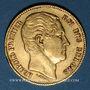 Coins Belgique. Léopold I (1831-1865). 20 francs 1865. L. WIENER. (PTL 900/1000. 6,45 g)