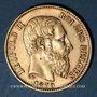 Coins Belgique. Léopold II (1865-1909). 20 francs 1870. (PTL 900/1000. 6,45 g)