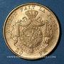 Coins Belgique. Léopold II (1865-1909). 20 francs 1871. (PTL 900/1000. 6,45 g)