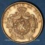 Coins Belgique. Léopold II (1865-1909). 20 francs 1876. Position A. (PTL 900/1000. 6,45 g)