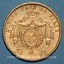 Coins Belgique. Léopold II (1865-1909). 20 francs 1878. (PTL 900‰. 6,45 g)