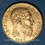 Coins Belgique. Léopold II (1865-1909). 20 francs 1882. (PTL 900/1000. 6,45 g)