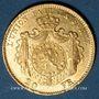Coins Belgique. Léopold II (1865-1919). 20 francs 1867. (PTL 900/1000. 6,45 g)