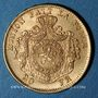 Coins Belgique. Léopold II (1865-1919). 20 francs 1871. (PTL 900/1000. 6,45 g)