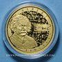 Coins Belgique. Philippe (21 juillet 2013 - ). 50 euro 2016. Albert Einstein. (PTL 999‰. 6,22 g)