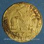 Coins Brabant. Philippe IV (1621-1665). Souverain ou lion d'or, 1663. Bruxelles