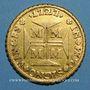 Coins Brésil. Jean V (1706-1750). 10 000 reis 1727. Minas Gerais