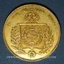 Coins Brésil. Pierre II (1831-1889). 20 000 reis 1853. (PTL 917‰. 17,92 g)