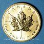Coins Canada. Elisabeth II (1952- ). 10 dollars 1986. (PTL 999‰. 7,785 g)