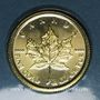 Coins Canada. Elisabeth II (1952- ). 10 dollars 2017 Feuille d'érable. (PTL 999,9‰. 7,785 g (1/4 once)