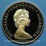 Coins Canada. Elisabeth II (1952- ). 100 dollars 1981. Hymne national. (PTL 917‰. 16,96 g)