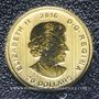 Coins Canada. Elisabeth II (1952- /). 20 dollars 2016. Cougar rugissant. (PTL 999,99‰. 3,11 g)