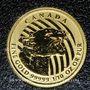 Coins Canada. Elisabeth II (1952- /). 20 dollars 2016. Cougar rugissant. (PTL 999,99/1000. 3,11 g)