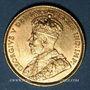 Coins Canada. Georges V (1910-1936). 5 dollars 1913. (PTL 900/1000. 8,36 g)