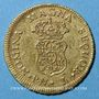 Coins Colombie. Charles III (1759-1788). 1 escudo 1762PN, Popayan