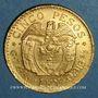 Coins Colombie. République. 5 pesos 1925 MFDELLIN (PTL 917‰. 7,988 g)