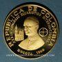 Coins Colombie. République. 500 pesos 1968. 39e congrès eucharistique international. (PTL 900/1000. 21,5g)