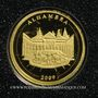 Coins Corée du Nord. 10 won 2009  (PTL 999‰. 0,5 g)