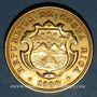 Coins Costa Rica. République. 20 colones 1900. (PTL 900‰. 15,56 g)