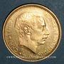 Coins Danemark. Christian X (1912-1947). 20 kroner 1913 (PTL 900‰. 8,96 g)