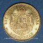 Coins Espagne. Alphonse XIII (1886-1931). 20 pesetas 1890(90)MP-M. Madrid. (PTL 900/‰. 6,45 g)