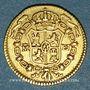 Coins Espagne. Charles III (1759-1788). 1/2 escudo 1773/2M-PJ. Madrid