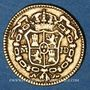 Coins Espagne. Charles III (1759-1788). 1/2 escudo 1783/80JD. Madrid