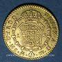 Coins Espagne. Charles III (1759-1788). 1/2 escudo 1787M-DV. Madrid