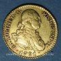 Coins Espagne. Charles IV (1788-1808). 1 escudo 1791M-MF. Madrid