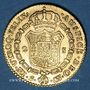 Coins Espagne. Charles IV (1788-1808). 2 escudos 1803S CN. Séville. 875 /1000. 6,77 gr