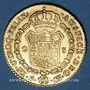 Coins Espagne. Charles IV (1788-1808). 2 escudos 1803S CN. Séville. (PTL 875‰. 6,77 g)