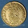 Coins Espagne. Ferdinand VI (1746-1759). 1/2 escudo 1756JB. Madrid