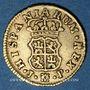 Coins Espagne. Ferdinand VI (1746-1759). 1/2 escudo 1761JP. Madrid