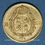 Coins Espagne. Ferdinand VII (1808-1833). 1/2 escudo 1817M-GJ. Madrid. (875/1000.  1,69 g)