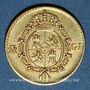Coins Espagne. Ferdinand VII (1808-1833). 1/2 escudo 1817M-GJ. Madrid. (PTL 875‰.  1,69 g)