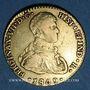 Coins Espagne. Ferdinand VII (1808-1833). 2 escudos 1809S CN. Séville. (PTL 875/1000. 6,77 g)