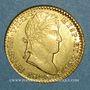Coins Espagne. Ferdinand VII (1808-1833). 2 escudos 1820S-CJ. Séville (PTL 875/1000. 6,77 g)