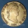 Coins Espagne. Ferdinand VII (1808-1833). 2 escudos 1831JB. Séville. (PTL 875/1000. 6,77 g)
