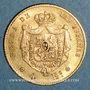 Coins Espagne. Isabelle II (1833-1868). 4 escudos 1868 (8-6) Madrid (PTL 900/‰. 3,35 g)