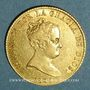 Coins Espagne. Isabelle II (1833-1868). 80 reales 1835M-CR. Madrid. (PTL 875/‰. 6,77 g)