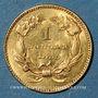 Coins Etats Unis. 1 dollar 1855. (PTL 900‰. 1,67 g)