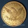 Coins Etats Unis. 10 dollars 1842 O. New Orleans. (PTL 900‰. 16,71 g)
