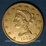Coins Etats Unis. 10 dollars 1842O. New Orleans. (PTL 900/1000. 16,71 g)